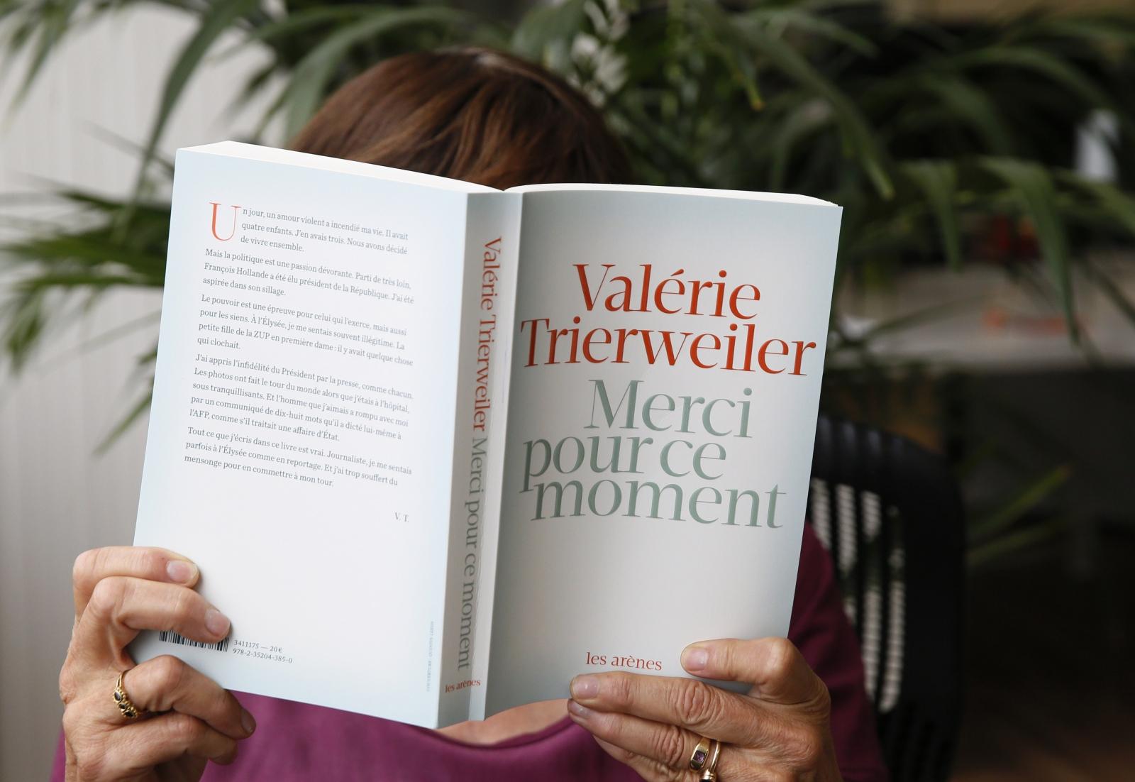 Valerie Trierweiler Merci Pour Ce Moment