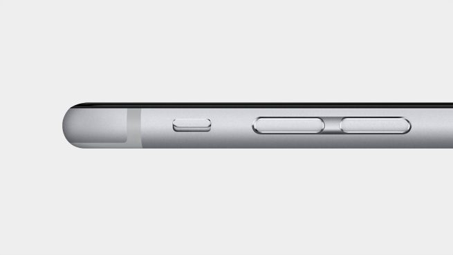 iPhone 6 side view