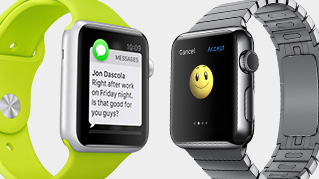 Messages via Apple Watch