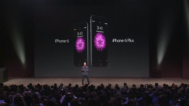 Apple Unveils iPhone 6 and iPhone 6 Plus