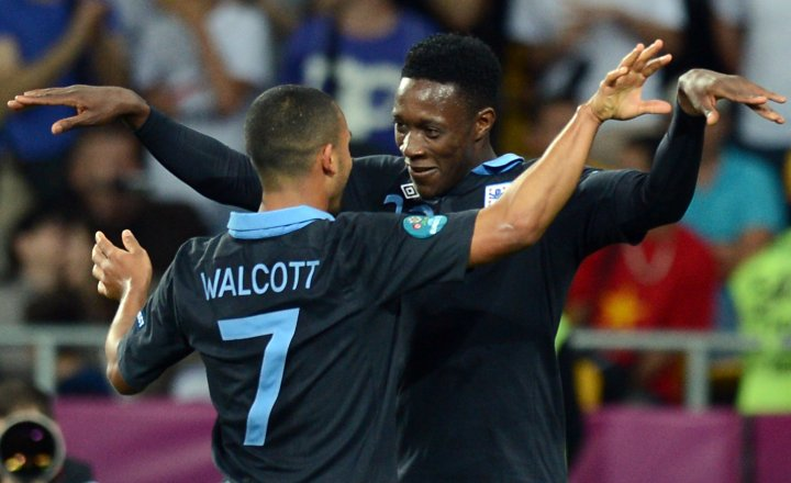 Walcott and Welbeck