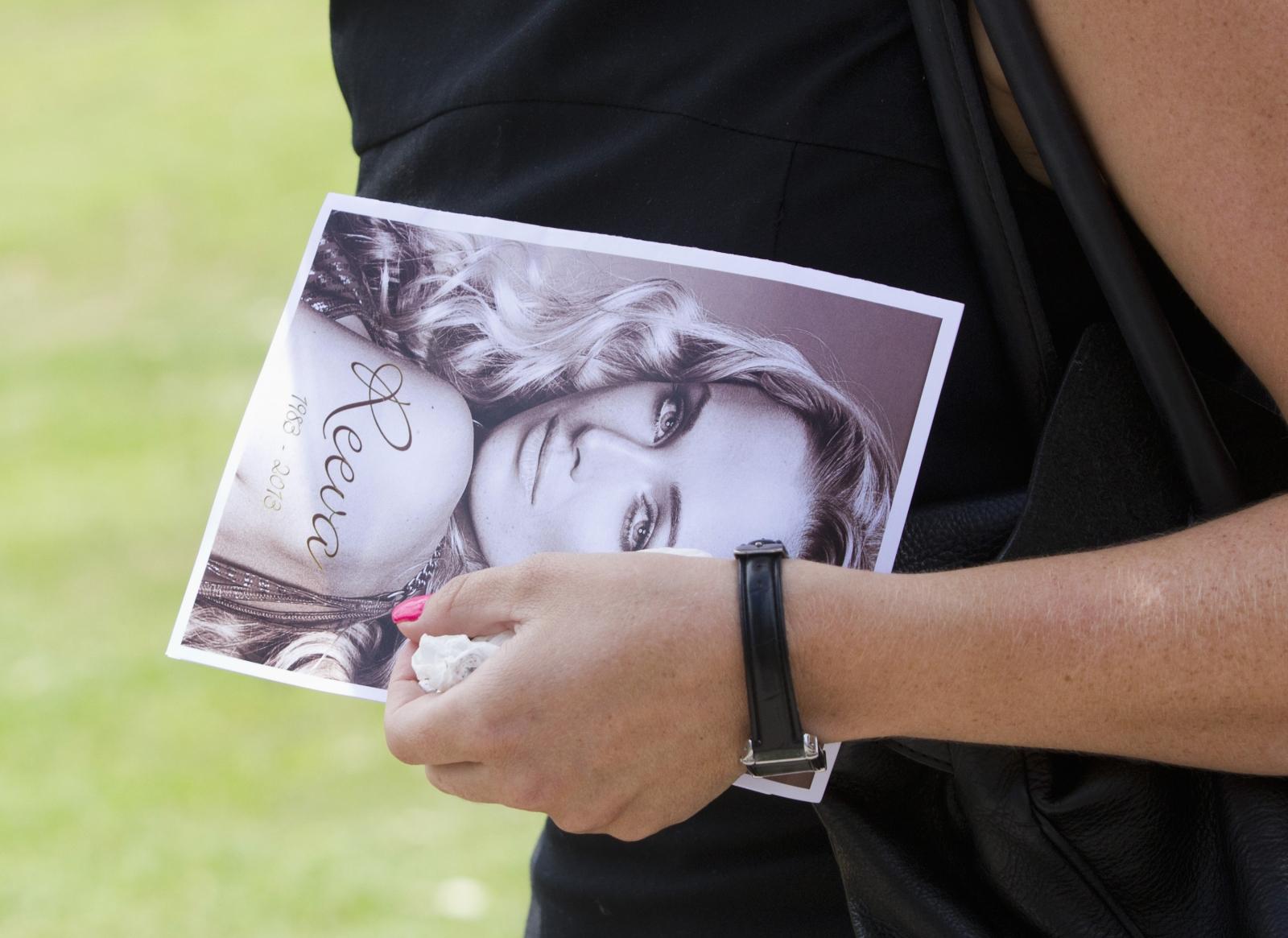 Reeva Steenkamp funeral
