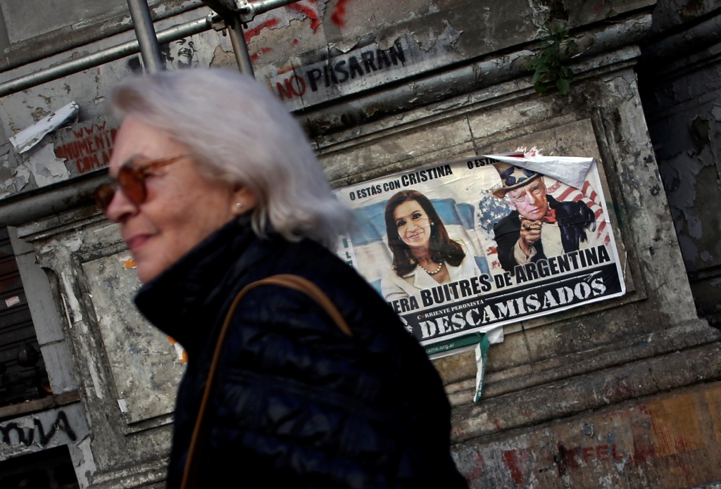 Argentina Vulture Funds Poster