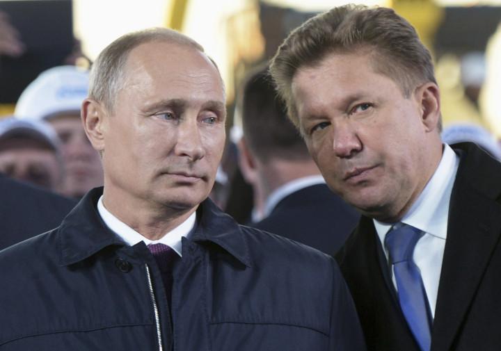 Vladimir Putin Alexei Miller