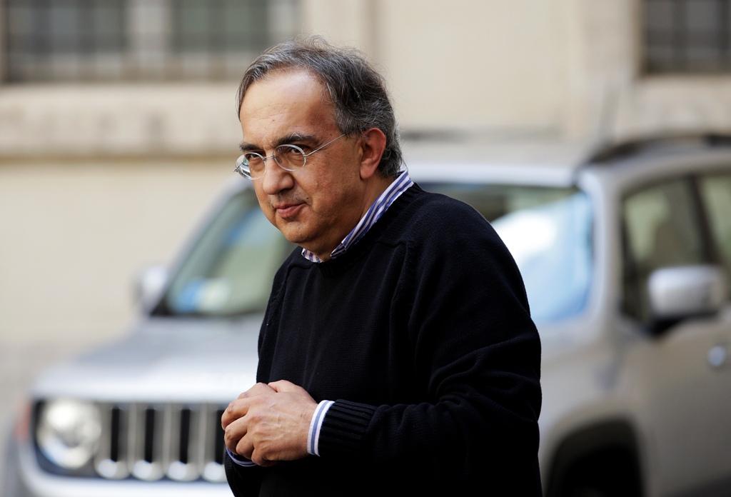 Fiat Boss Sergio Marchionne