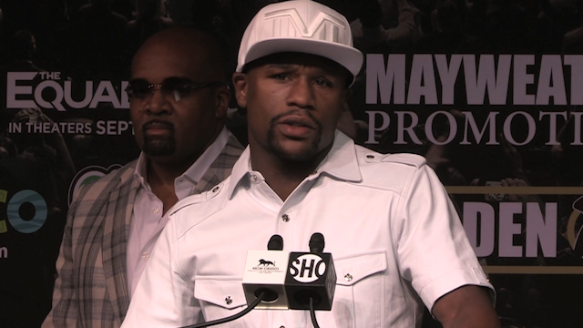 Floyd Mayweather: Maidana Rematch is What the Fans Want