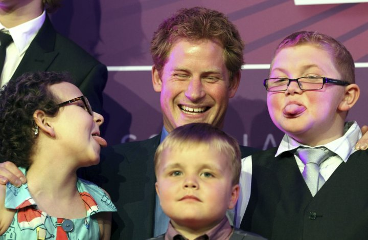 prince harry wellchild charity