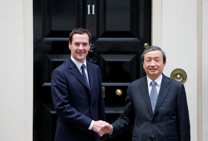 George Osborne Ma Kai