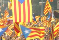 Thousands of Catalans Call for Independence in Huge Rally