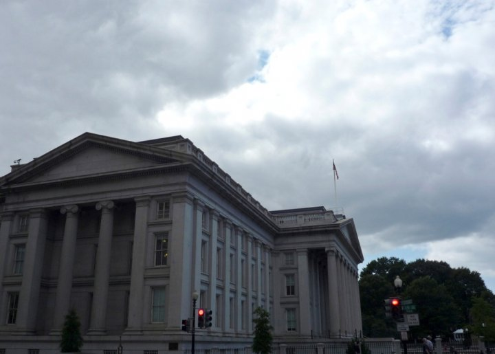 US Treasury Department Building