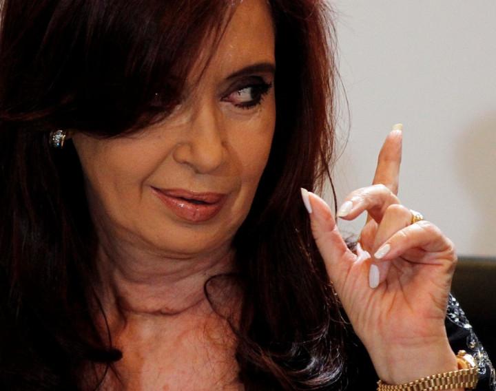 Argentina President Cristina Fernandez