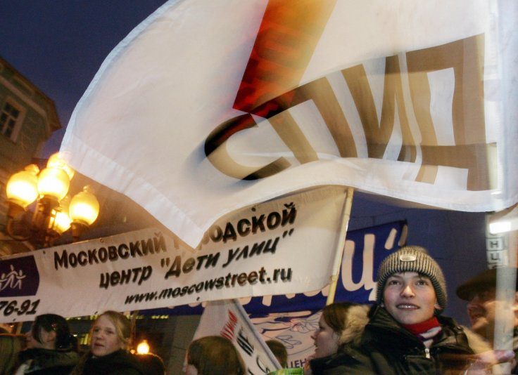 HIV in Russia