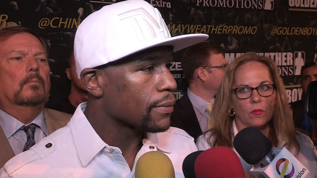 Floyd Mayweather: Maidana Will Have to Make Adjustments
