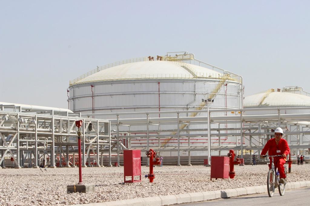 Halfaya Oilfield, Amara, Iraq