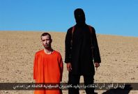 David Haines\' beheading was depicted in a video entitled \'A Message to the Allies of America\', which was released by Islamic State militants on Saturday.