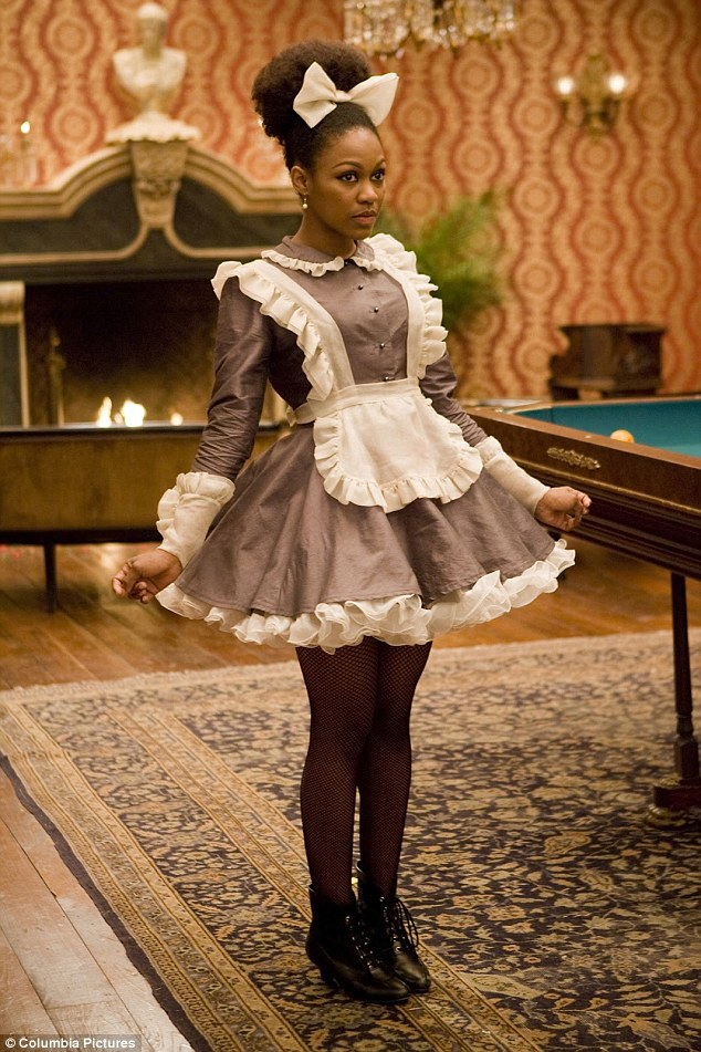 Daniele Watts as CoCo in Quentin Tarantino's slavery film Django Unchained