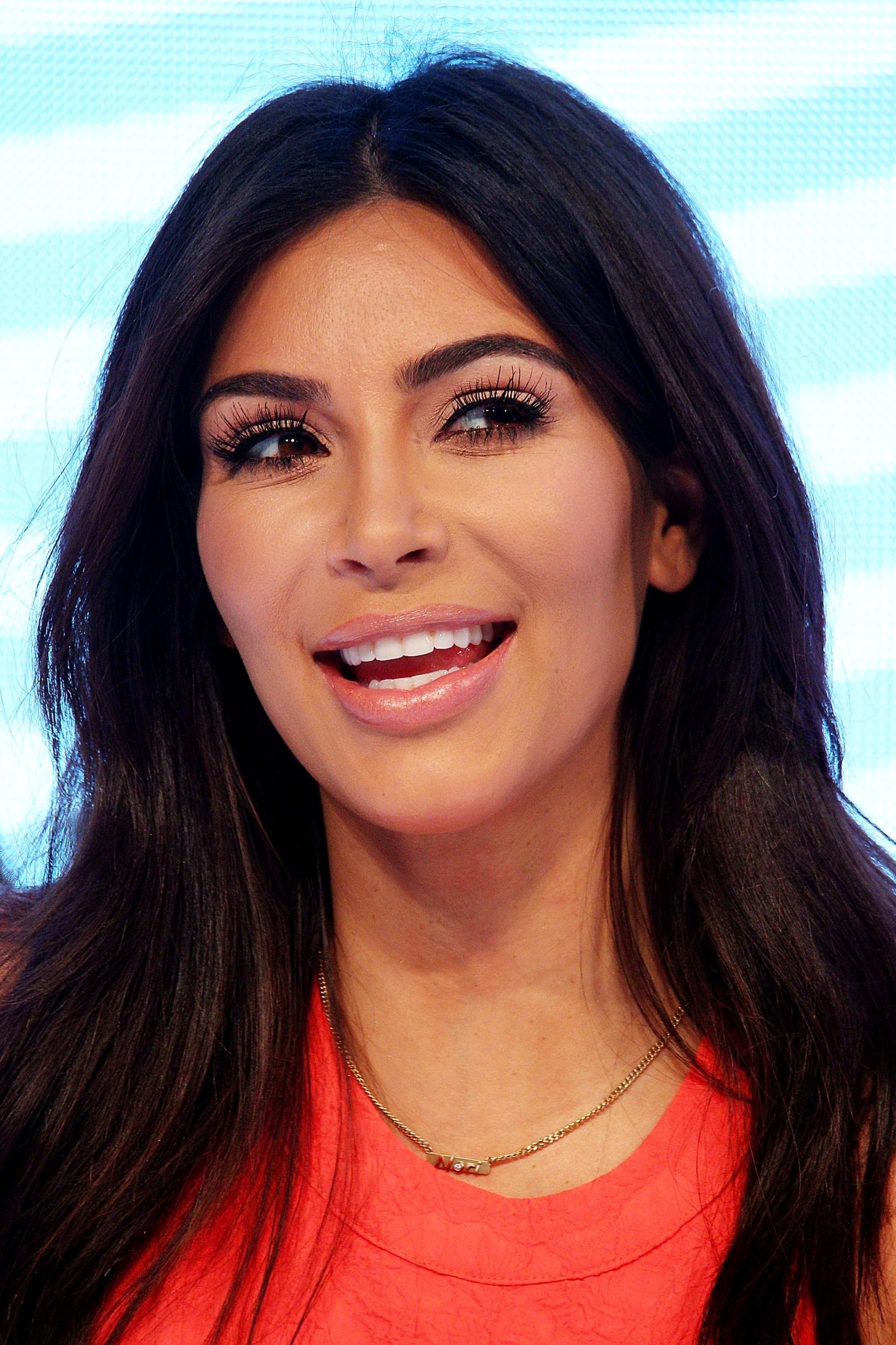 Kim Kardashian attends the Kardashian Kollection Spring Launch at Westfield Parramatta in Australia