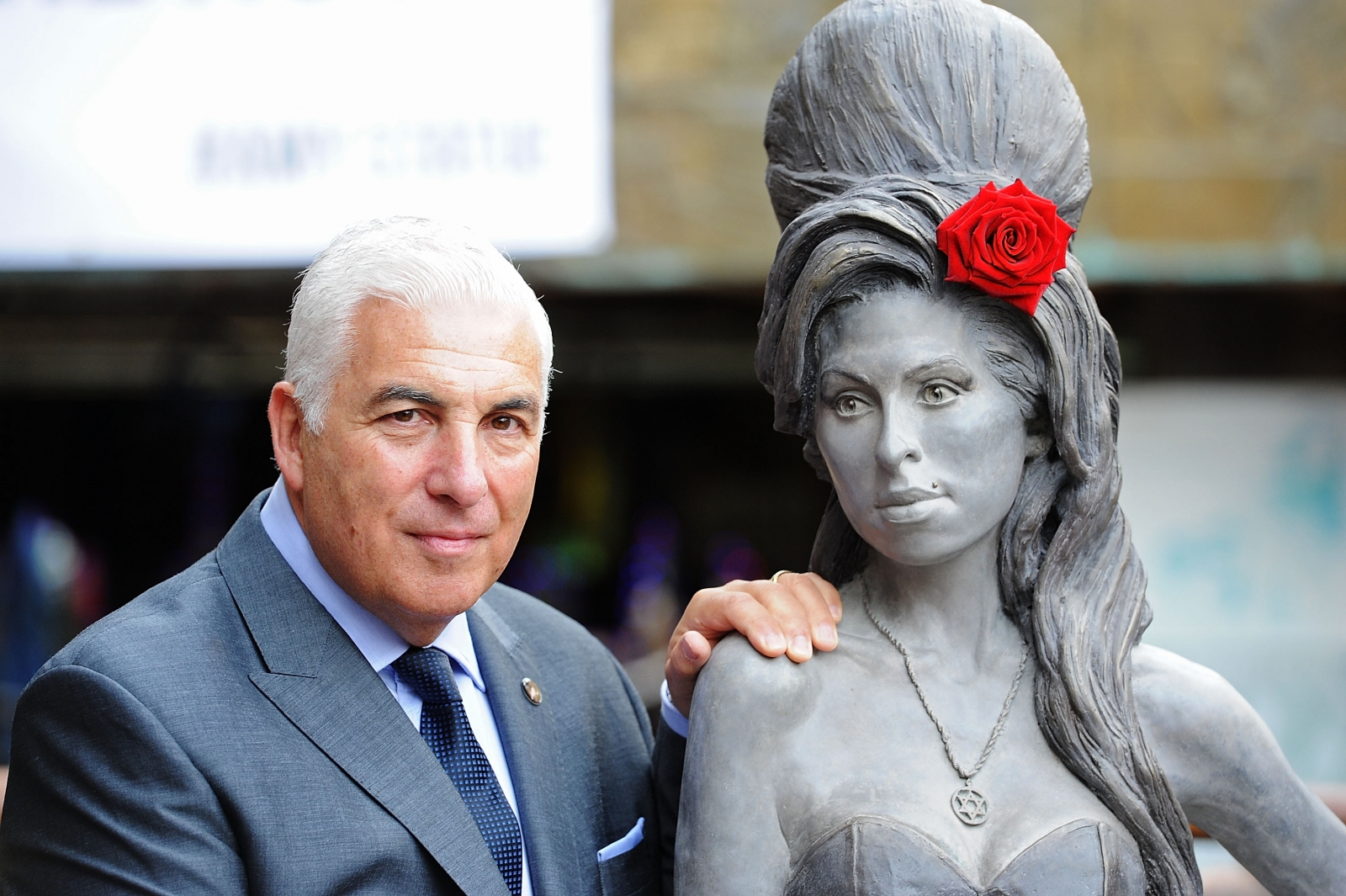 Amy Winehouse Statue Unveiled in North London
