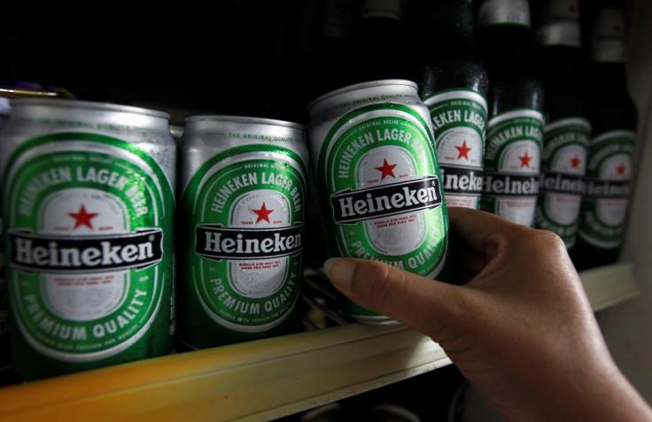 Heineken Beer Cans
