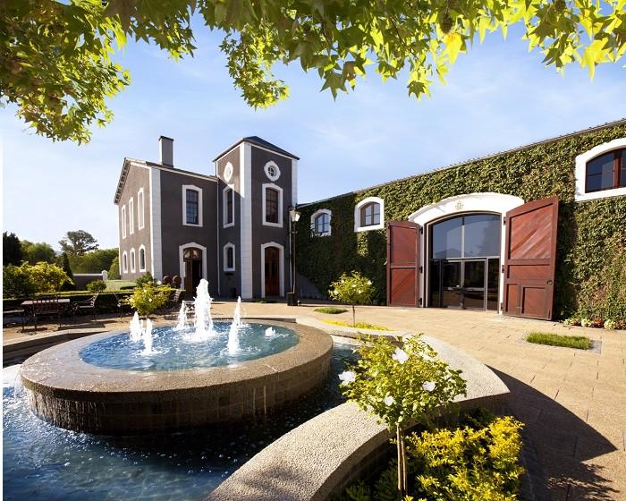 The lavish Van Ryn's distillery
