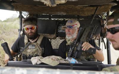 Patriots Border Patrol Jeep
