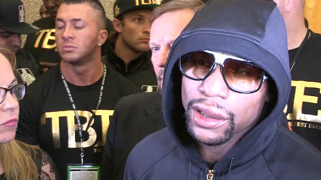 Floyd Mayweather Claims Marcos Maidana Bit Him During Bout