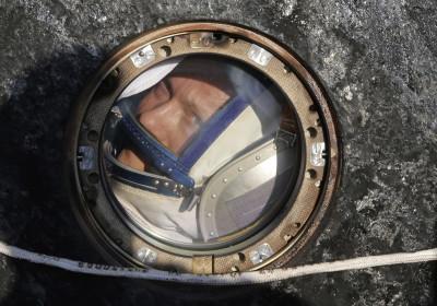 Cosmonaut Oleg Artemyev Soyuz Landing