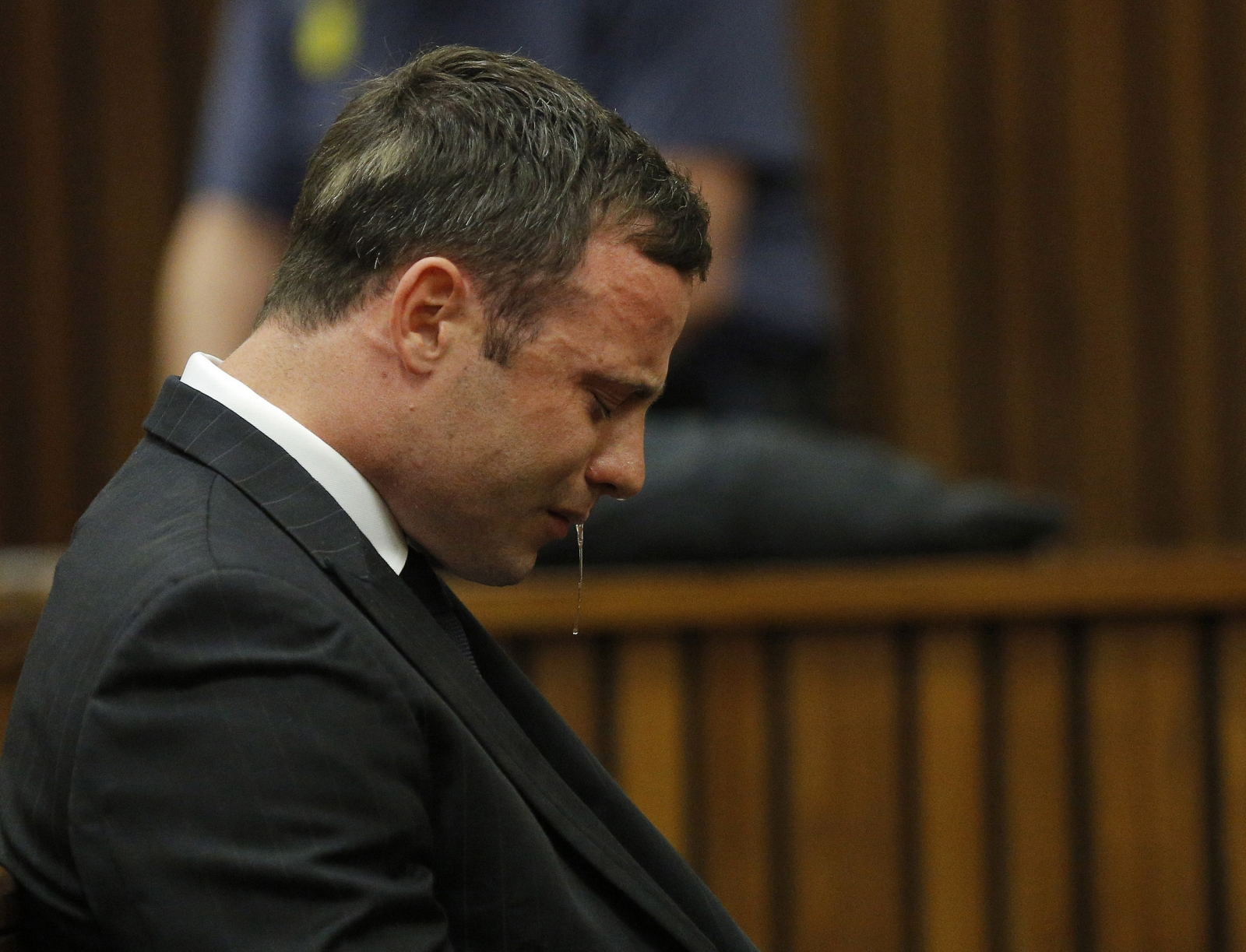 Oscar Pistorius Verdict Reaction Drool