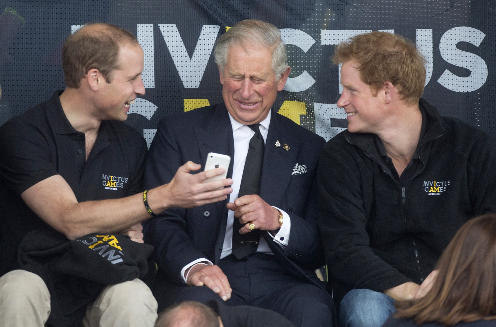 Prince William, Charles, Harry at the Invictus Games