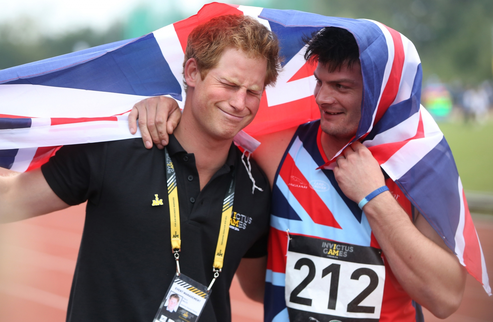 Prince Harry and David Henson Invictus Games