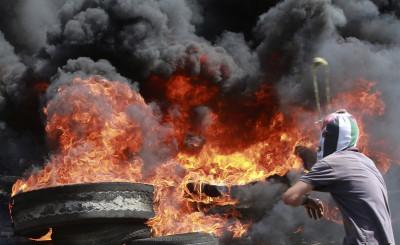 Palestinian Protester Qadomem Settlement Protest