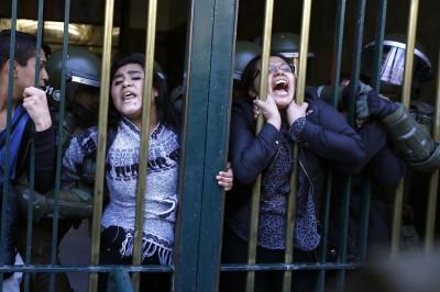 Student Protest Santiago