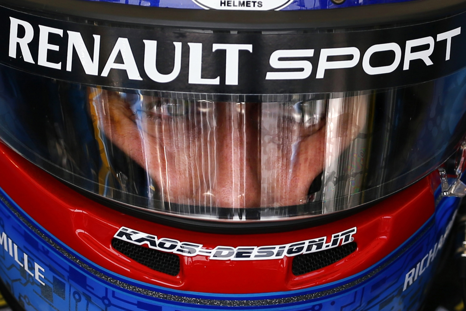 Nicolas Prost Beijing Pit Lane Helmet