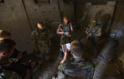 Ukraine Soldiers Prayer Religion Service