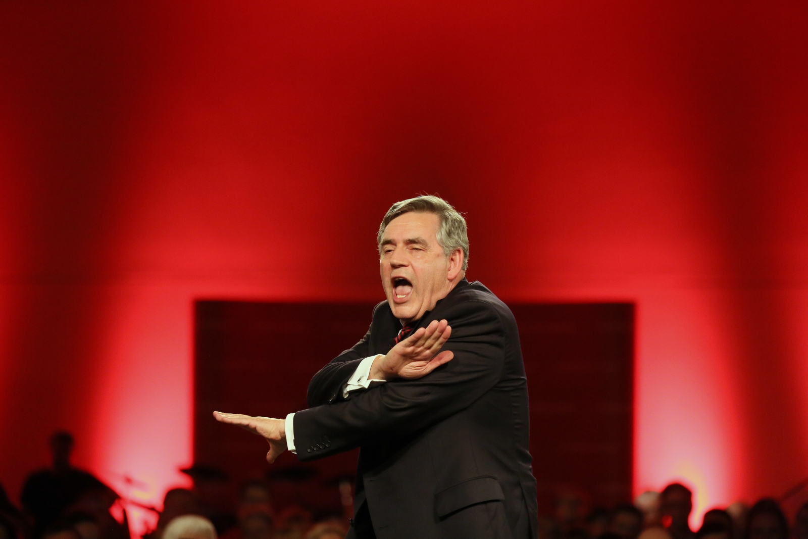 Gordon Brown Labour Scottish Independence Rally