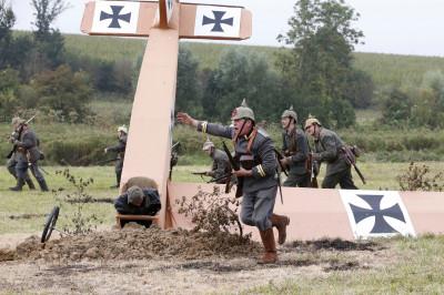 World War One Anniversary Re-enactors