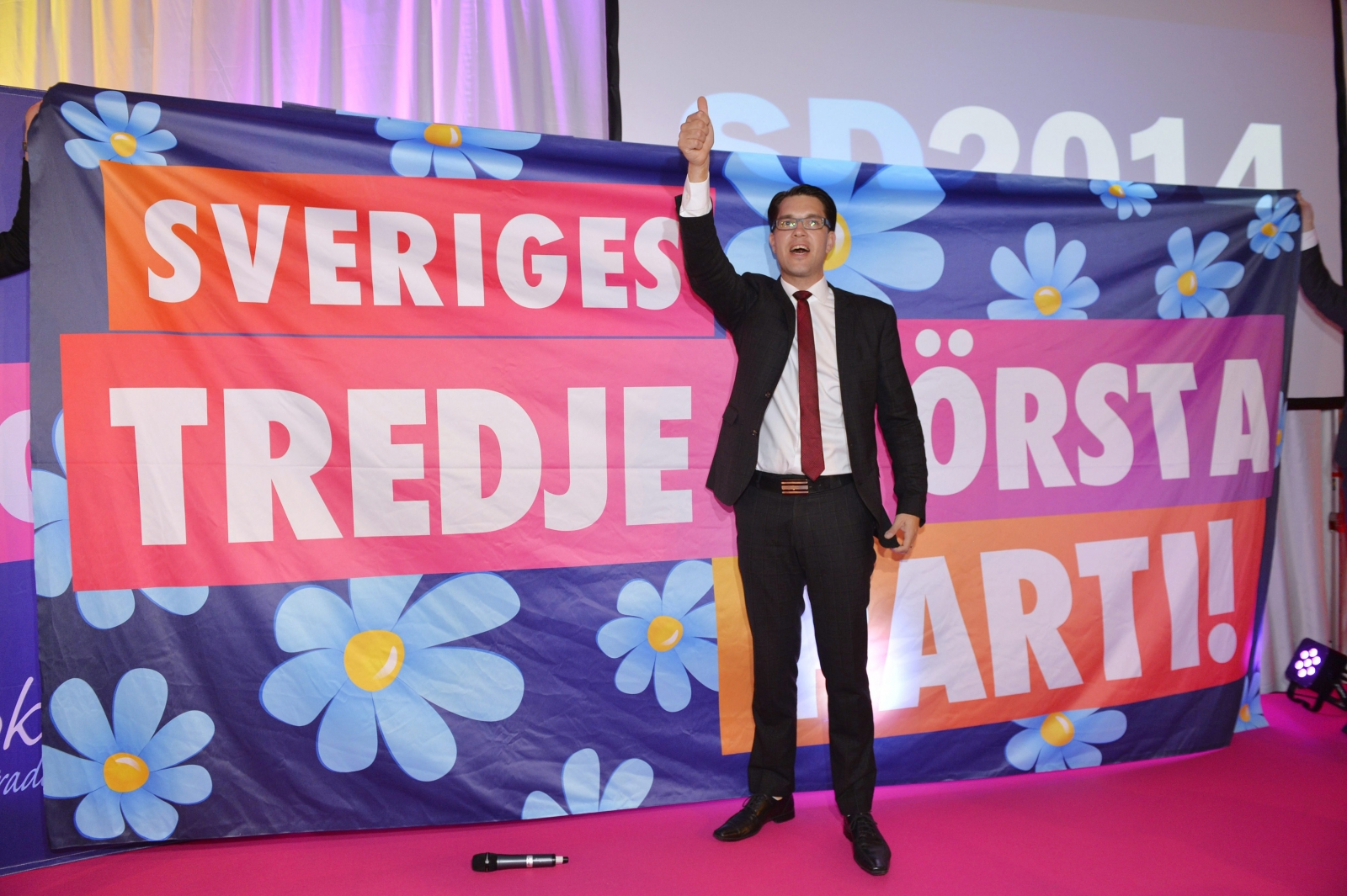 Jimmie Akesson Sweden Democrats