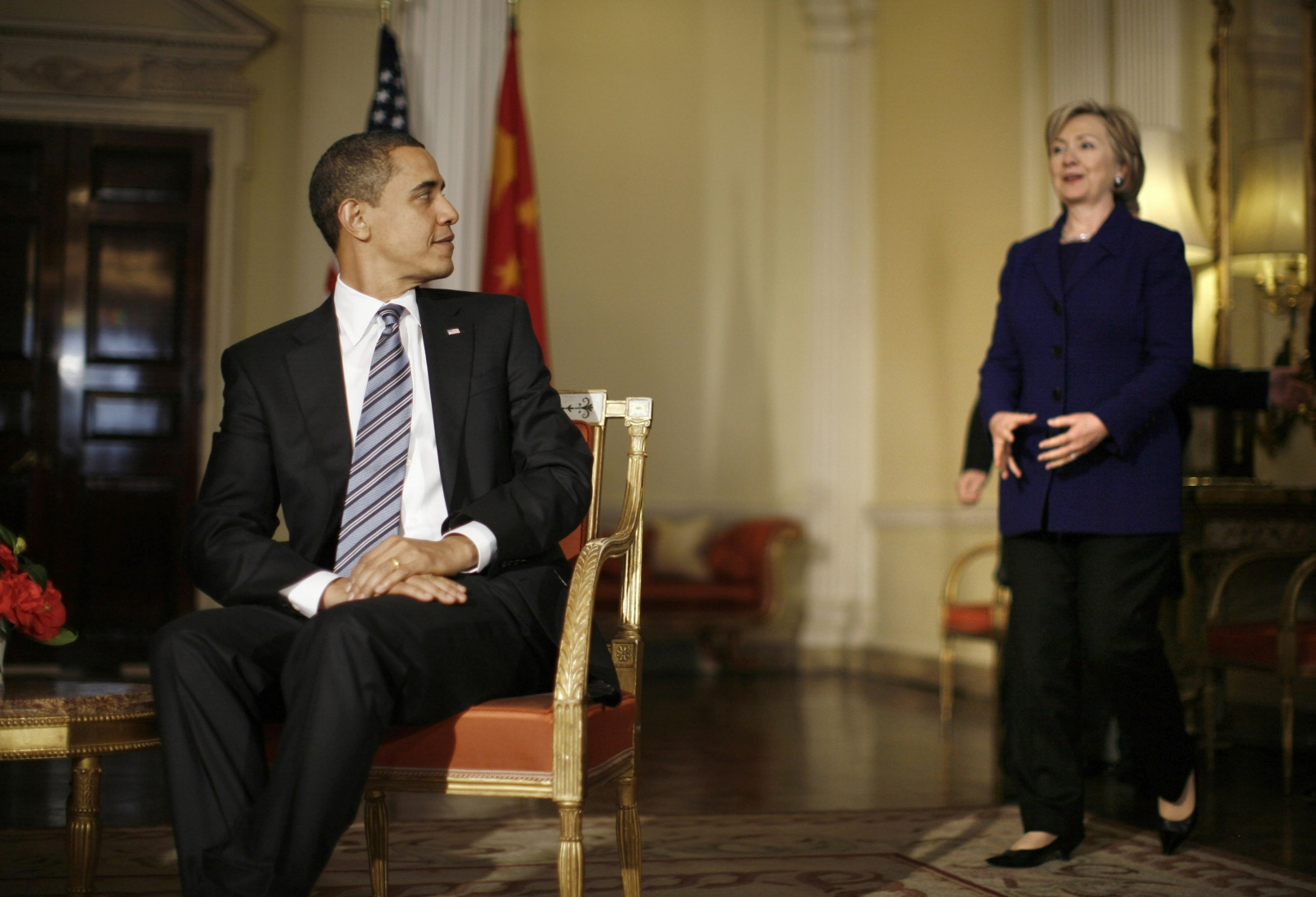 Obama And Hillary In China