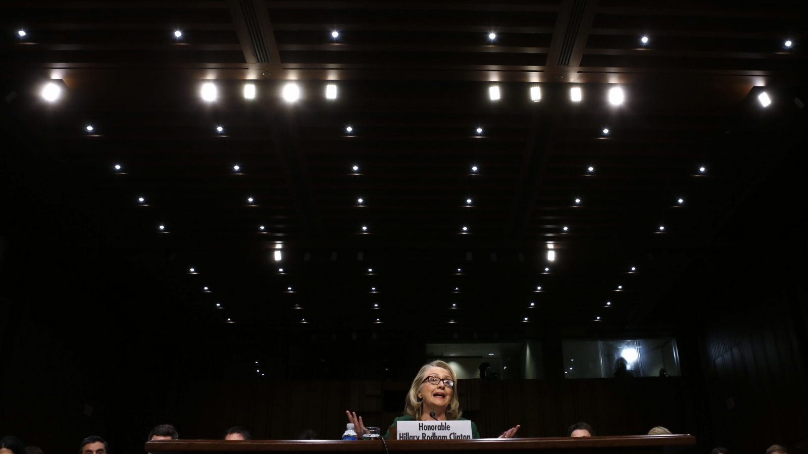 Hillary Testifies at Benghazi Committee