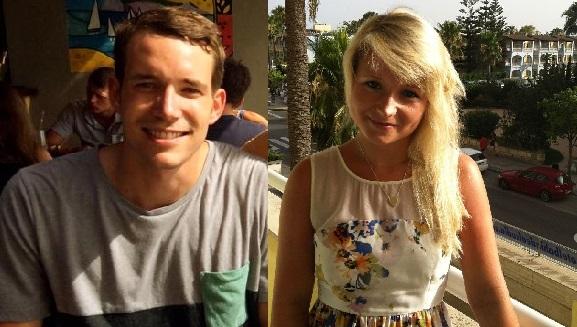 David Miller and Hannah Witheridge