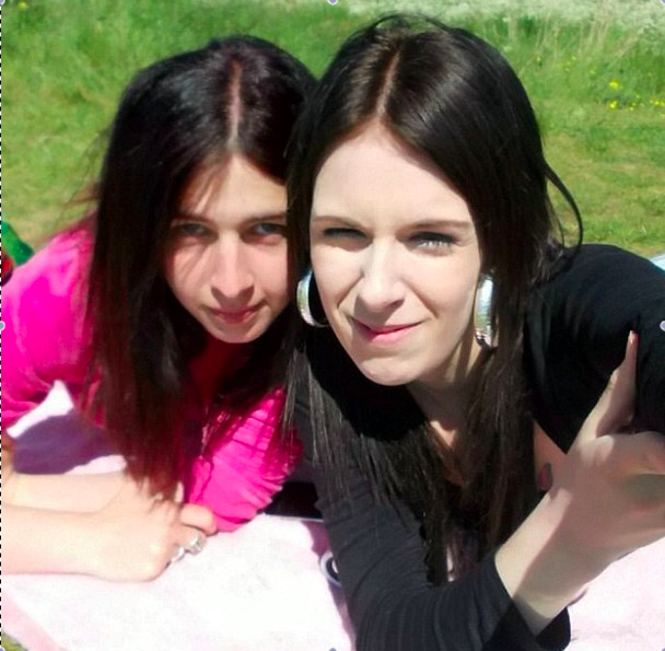 Milly Caller (L) has been charged with assisting the suicide of her friend Emma Crossman