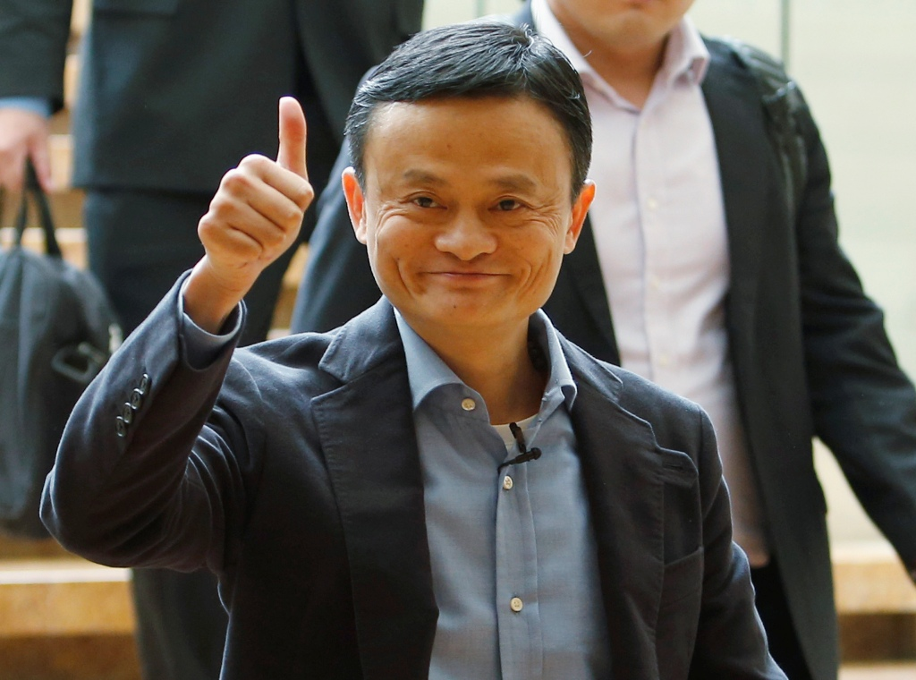 Alibaba Group Boss Jack Ma.