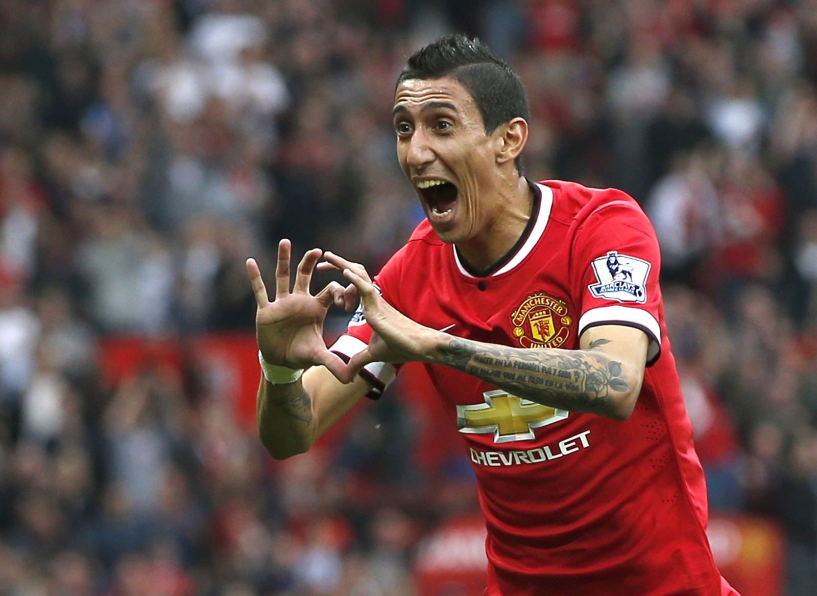 Angel Di Maria Delighted With Manchester United Start
