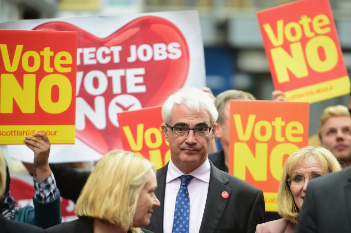 Alistair Darling Better Together