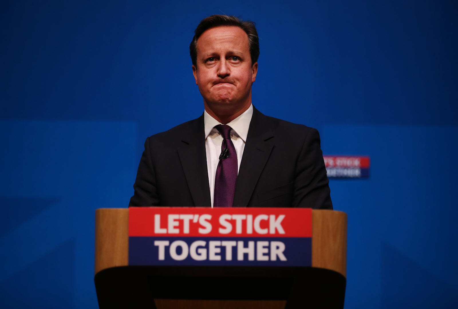 David Cameron Speaking in Edinburgh