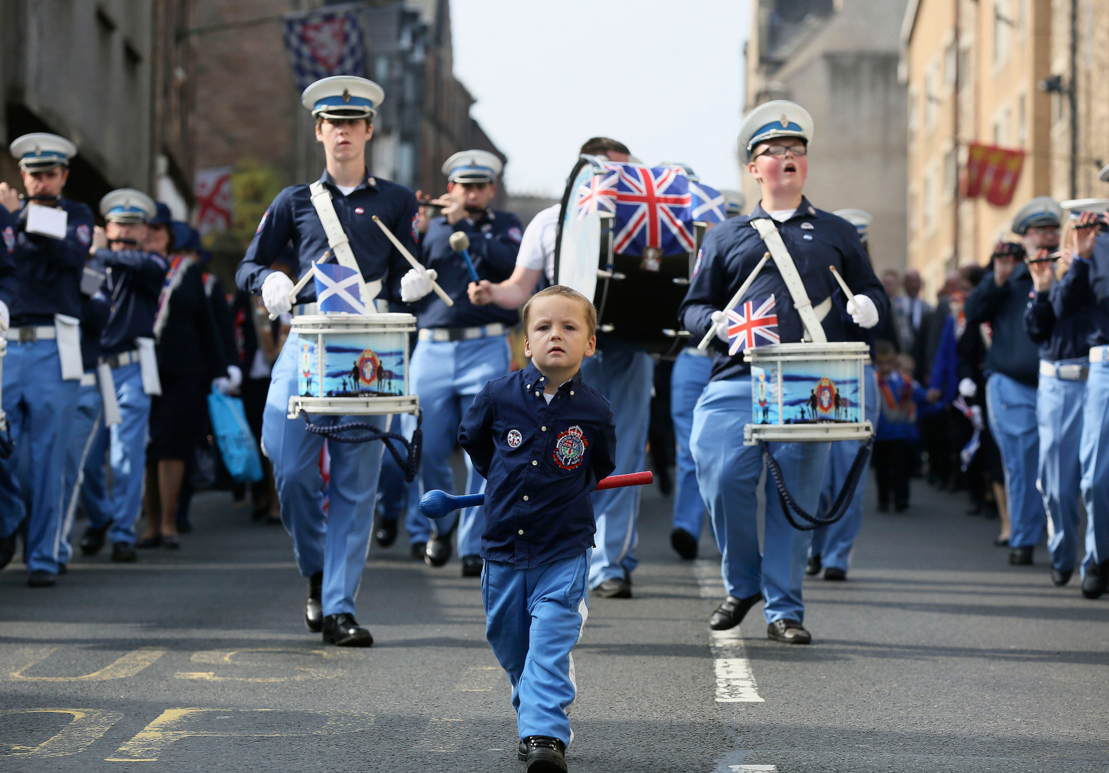 Edinburgh Orange Order Parade