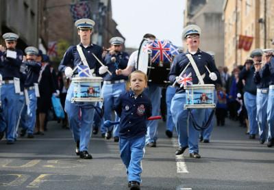 Edinburgh Orange Order Parade