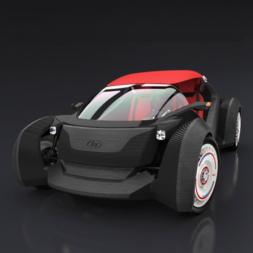 Strati, world's first 3D-printed electric car