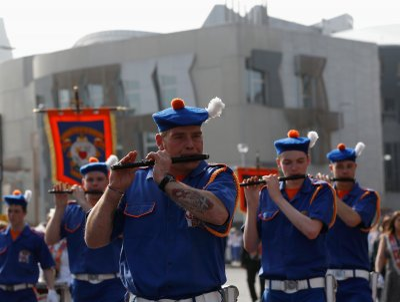 Orange Order Edinburgh Parade