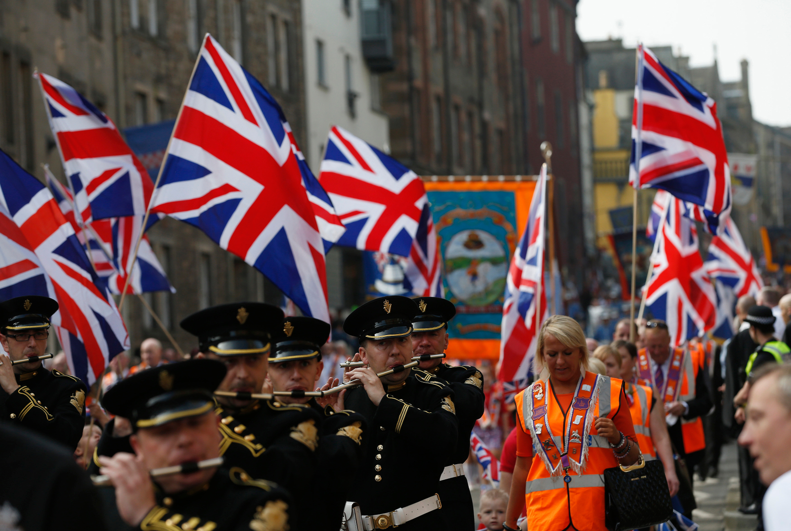 Orange Order Edinburgh Parade